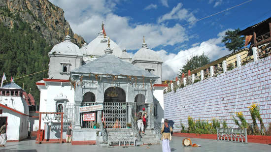 The Chardham Camps - By Leisure Hotels uttarakhand Uttranchal-4Dham-Gangotri-TempleCourtyard-1