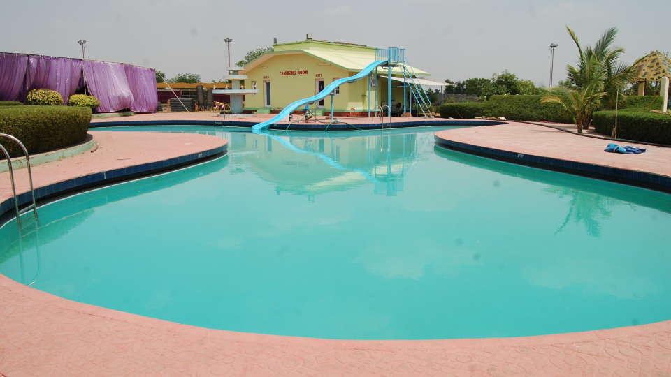 The Palm Resort, Bhilwara Bhilwara Swimming Pool The Palm Resort Bhilwara