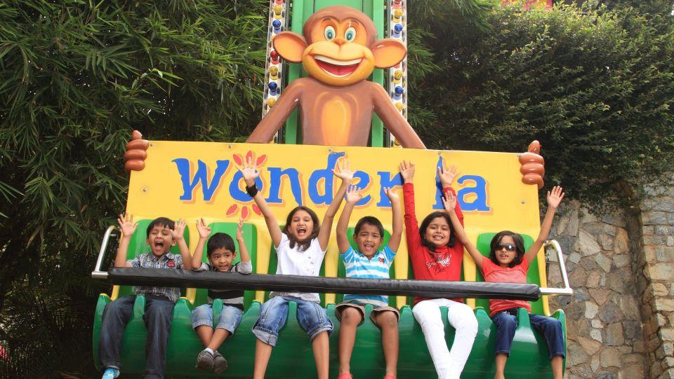 Kids Rides - Funky Monkey at  Wonderla Amusement Park Bangalore