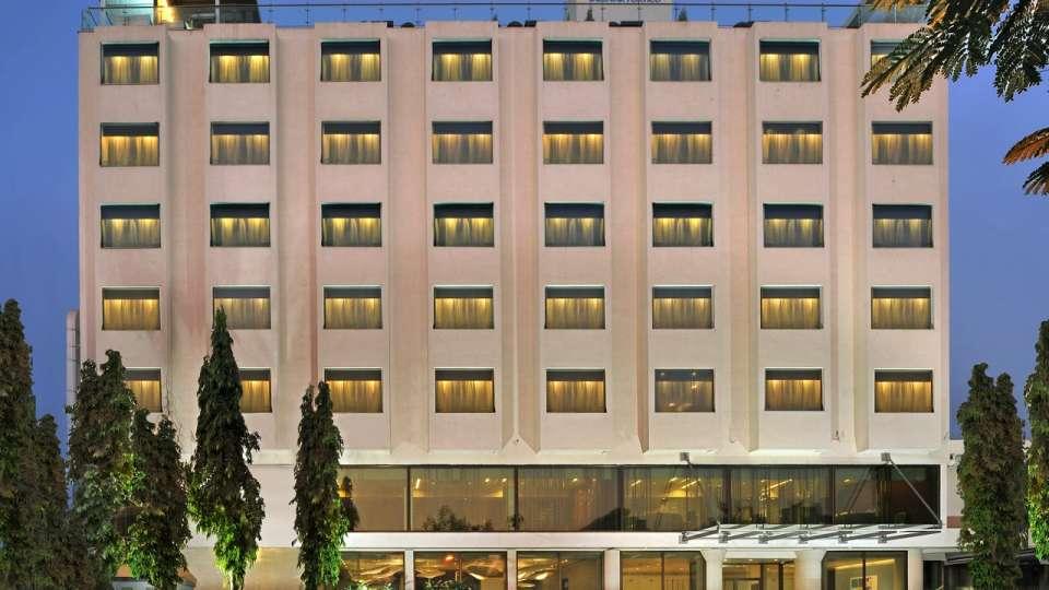 Facade Sarovar Portico, Rajkot, business hotel in rajkot, near rajkot airport