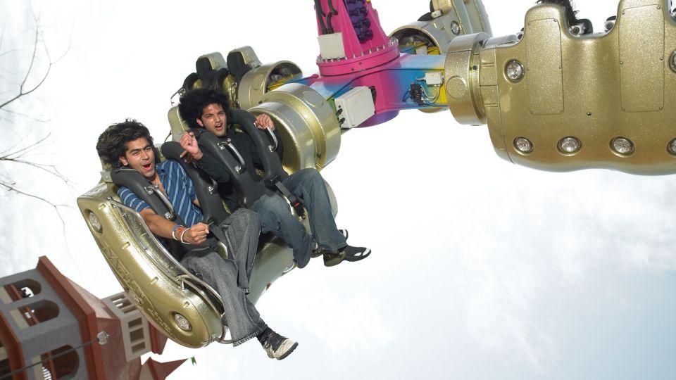 Thrillers Rides - Insanity at  Wonderla Amusement Park Bengaluru