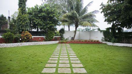 Valerina Lawn at Kamfotel Hotel Nashik, Part Lawns in Nashik 1