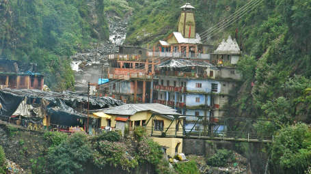 Yamutri-Temple - The Chardham Camps Uttarkashi