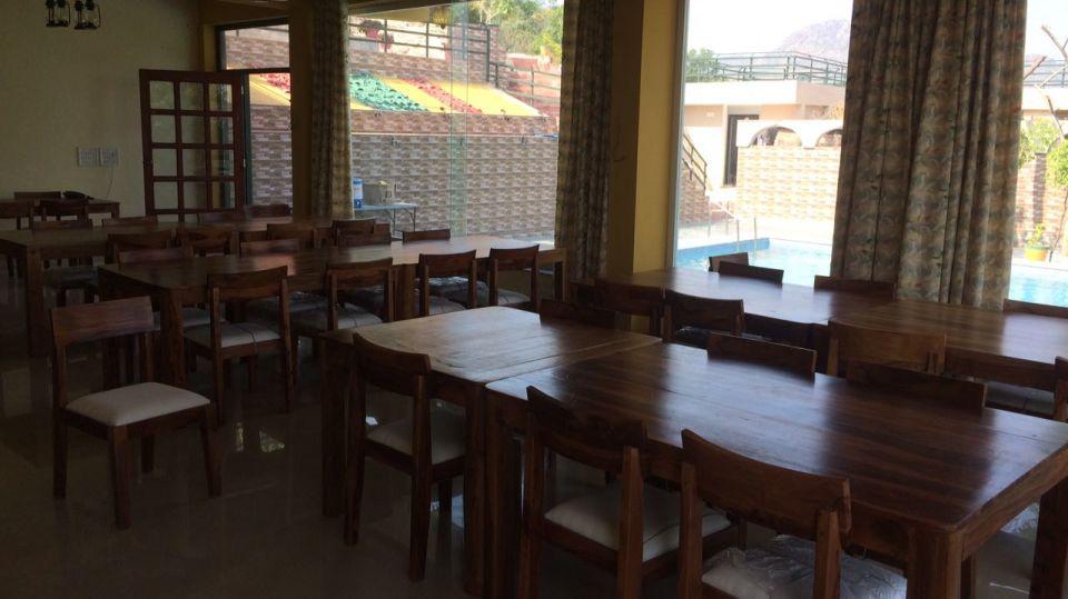 The Space Jungle Retreat, Udaipur Udaipur Restaurant 2