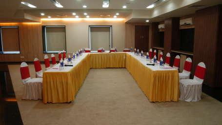 Coral Meeting Room and Banquet Hall at Kamfotel Hotel Nashik