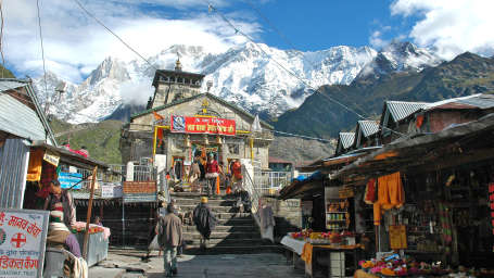 The Chardham Camps - By Leisure Hotels uttarakhand Kedernath-Temple
