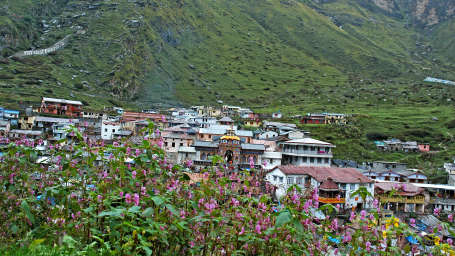 Badrinath Temple chardham camps - The Chardham Camps Uttarkashi