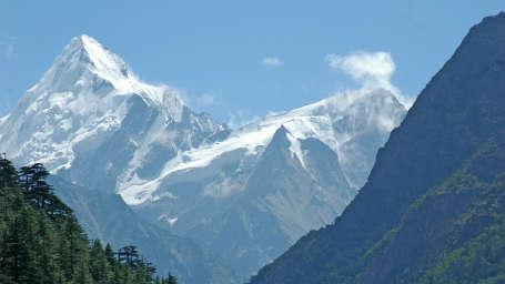 Yamunotri, Gangotri, Kedarnath & Badrinath uttarakhand 1Uttranchal-4Dham-RoadToGangotri-SnowPeak-2