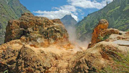 Yamunotri, Gangotri, Kedarnath & Badrinath uttarakhand Uttranchal-Tapovan-HotSprings-1