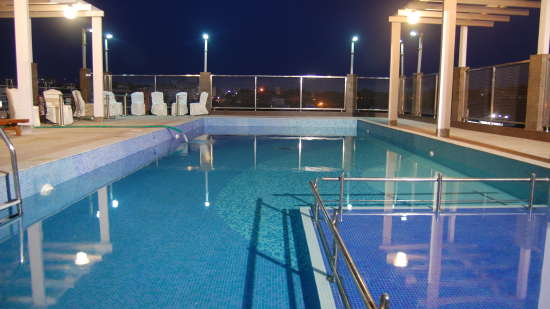 Swimming Pool at Hotel Daspalla Visakhapatnam 2