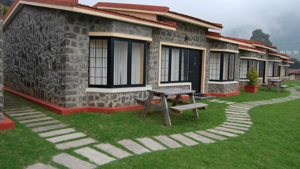 HILL COUNTRY KODAI Resort LUXURY COTTAGE - EXTERIOR