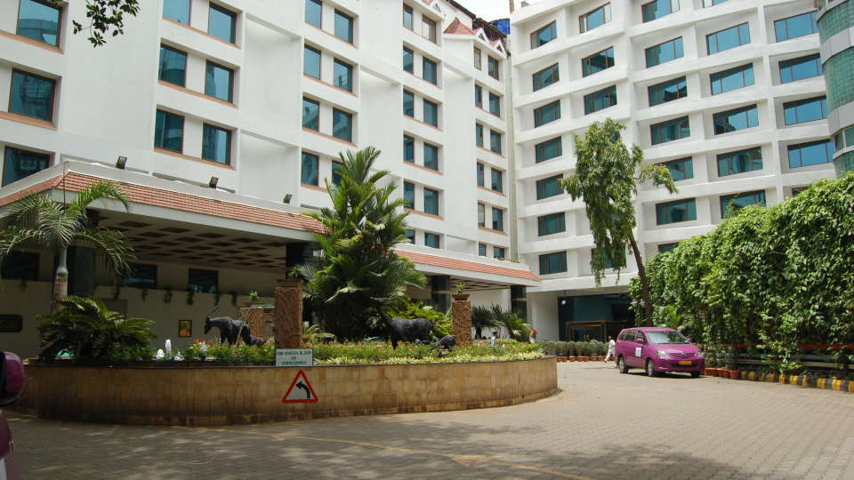 Facade  of The Orchid Hotel Mumbai