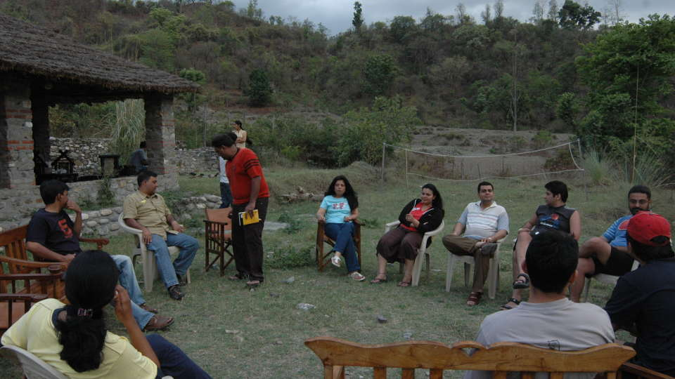 Fun activities at Wild Brook Retreat Uttarakhand