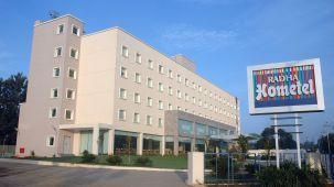 Facade at Radha Hometel Bangalore, Best hotels in bangalore 1