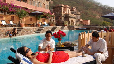 Spa, Neemrana fort palace, spa in Rajasthan 2
