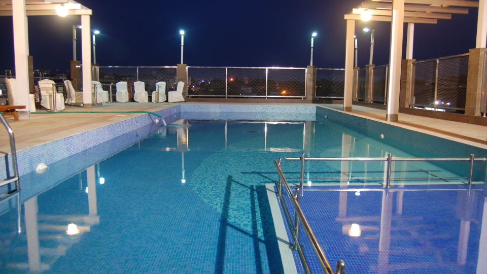 Swimming Pool at Hotel Daspalla Visakhapatnam 2