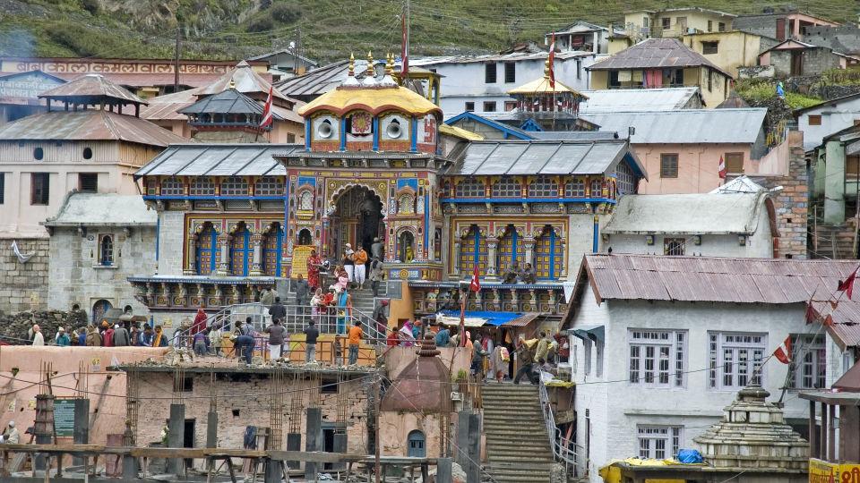 Badrinath Temple chardham The Chardham Camps Uttarkashi