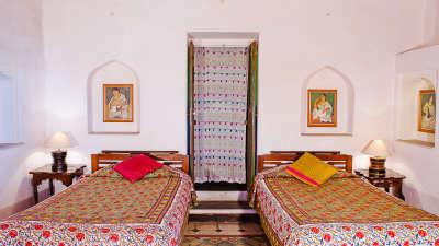Neemrana Fort-Palace - 15th C, Delhi-Jaipur Highway Neemrana Rang Mahal Hotel Neemrana Fort Palace Neemrana Rajasthan 1