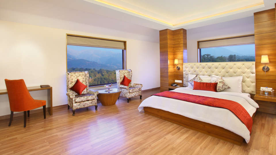 Junior Suite at RS Sarovar  Portico, Palampur Resorts 1