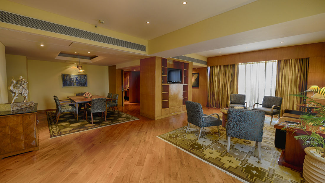 Presidential Suite at The Grand New Delhi Hotel on Nelson Mandela Road 104