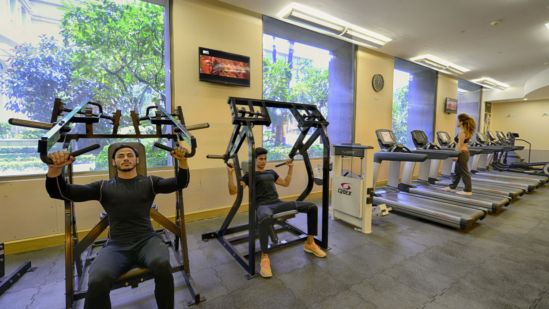 The Grand New Delhi New Delhi Fitness Centre 1 at The Grand New Delhi Hotel on Nelson Mandela Road