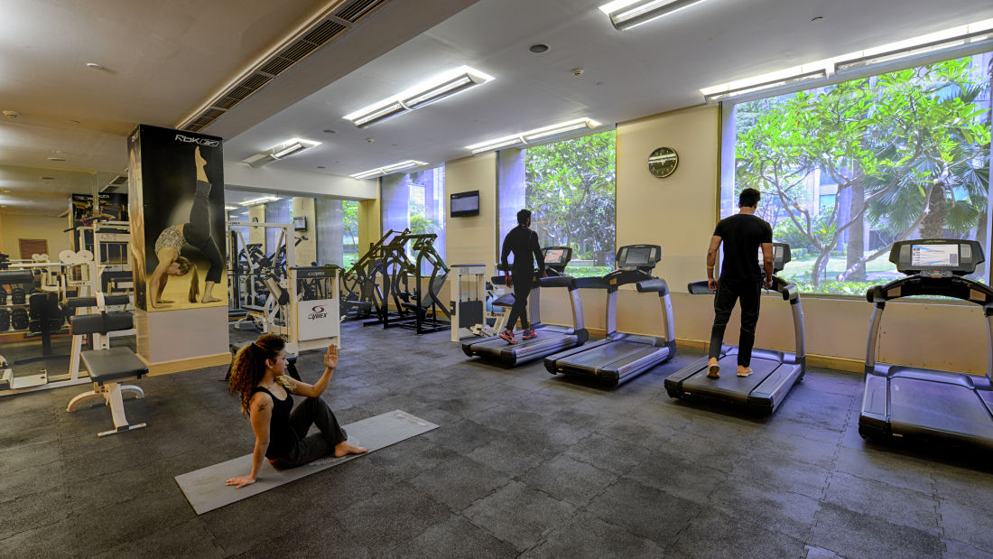 The Grand New Delhi New Delhi Fitness Centre at The Grand New Delhi Hotel on Nelson Mandela Road