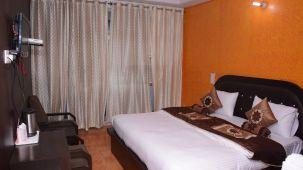 Deluxe Bed Room at Hotel Trishul -  Budget Hotels, Har ki Pauri Hotels, Haridwar Hotels