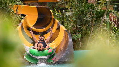 Wonderla Amusement Park, Bangalore water slides in Bangalore Wonderla Bengaluru 587512Banded Kraits 2