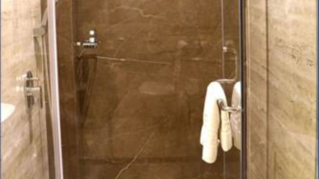 Bathroom2 at Premium Rooms AMARA GRAND INN CALANGUTE,  Rooms in Calangute, Goa Resort