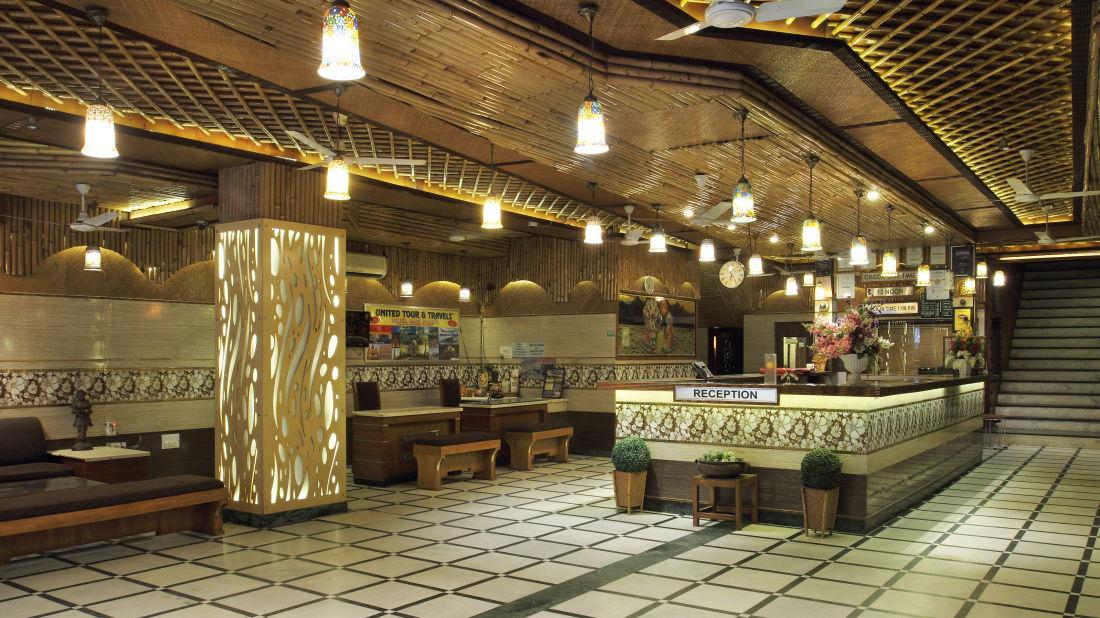 Hotel Hari Piorko - Paharganj, New Delhi New Delhi Reception Hari Piorko Paharganj New Delhi 1