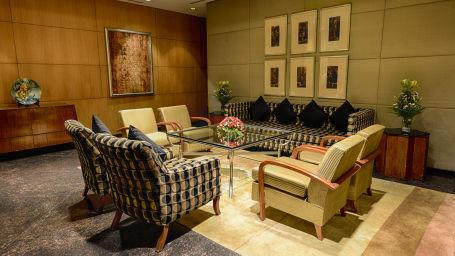 The Grand New Delhi New Delhi Meeting Room at The Grand New Delhi Hotel on Nelson Mandela Road Conference Hall in New Delhi