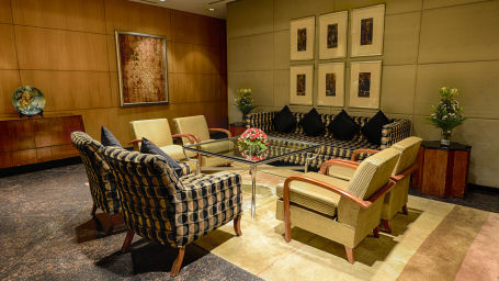 Meeting Room at The Grand New Delhi Hotel on Nelson Mandela Road Conference Hall in New Delhi 109