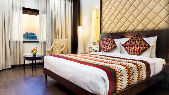 hotel rooms in Jaipur, Club Rooms at Clarks Amer Jaipur, Luxury Hotels in Jaipur