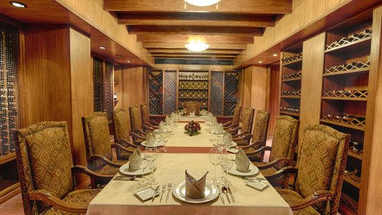 Best Wine Collection at The Grand New Delhi Hotel on Nelson Mandela Road  Best Restaurants In Delhi 110