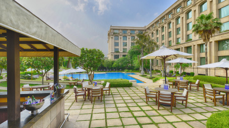 The Grand New Delhi New Delhi Aqua Bar at The Grand New Delhi Hotel on Nelson Mandela Road