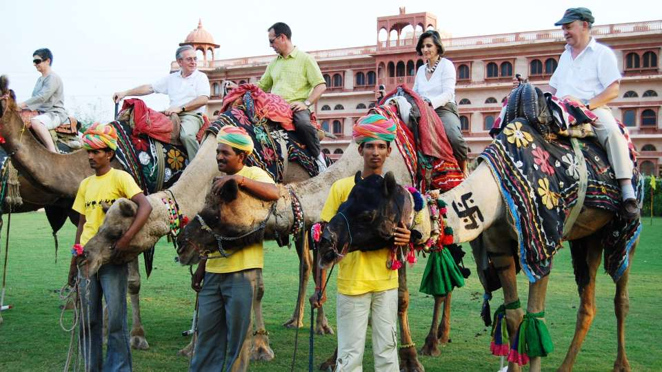 Camel Polo at Umaid Lake Palace Hotel Kalakho Dausa Rajasthan