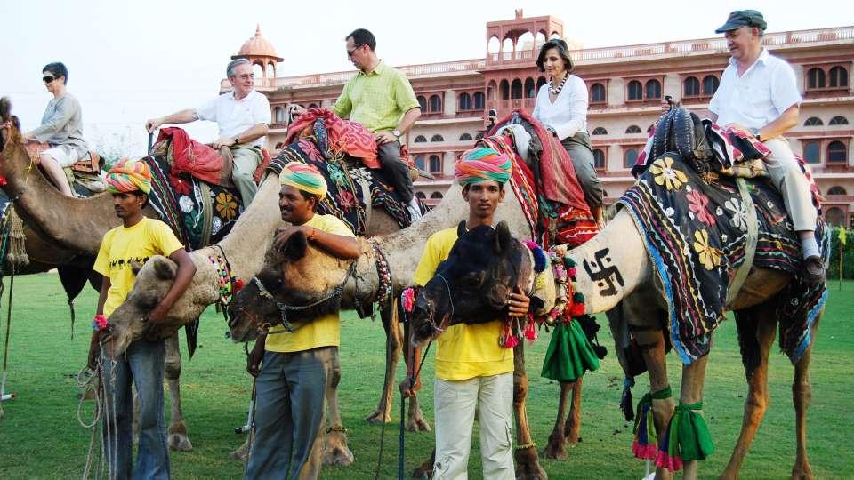 Camel Polo at Umaid Lake Palace Hotel Kalakho Dausa Rajasthan