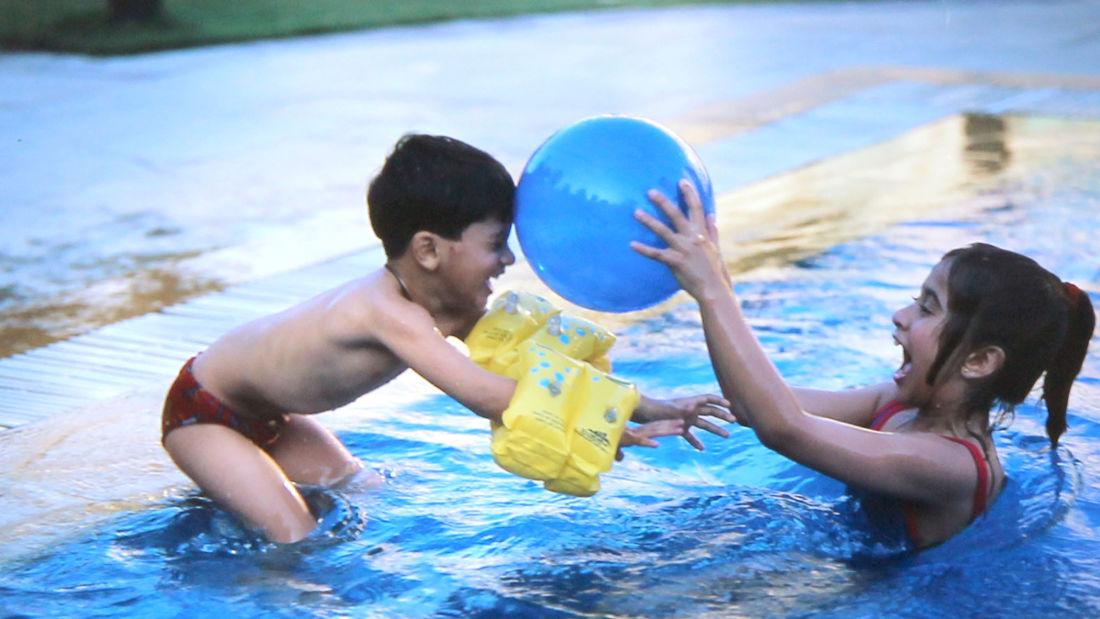 swimming pool, the grand new delhi -2