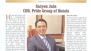 Pride Hotels India Hospitality India Page No.51 Issue Oct - Nov 2019