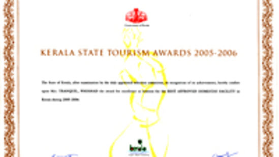 Tranquil Resort, Wayanad Wayanad Award-2005-2006