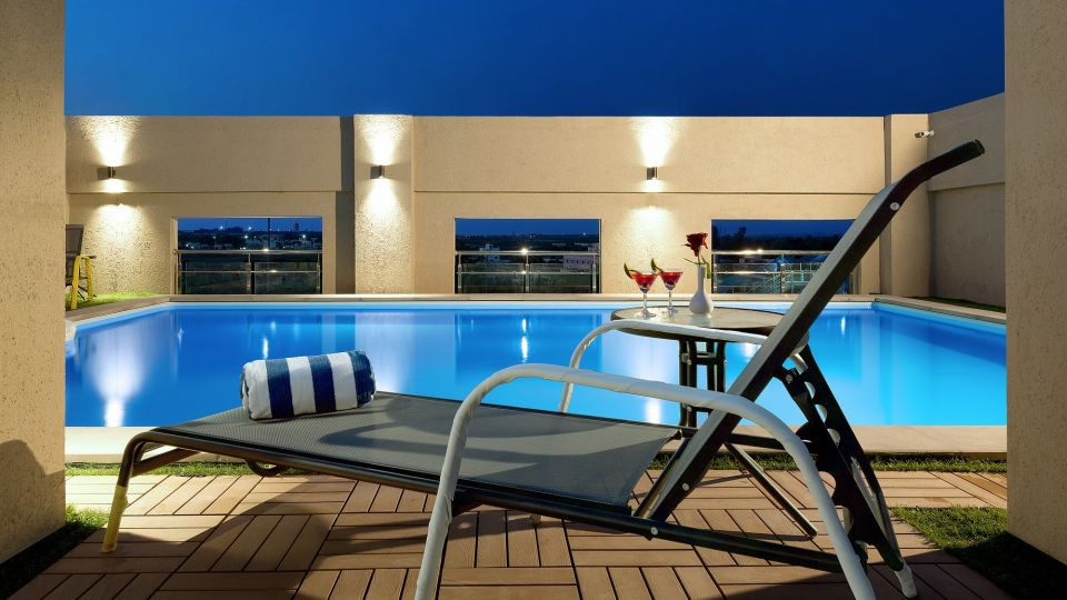 Pool with Deck Chair