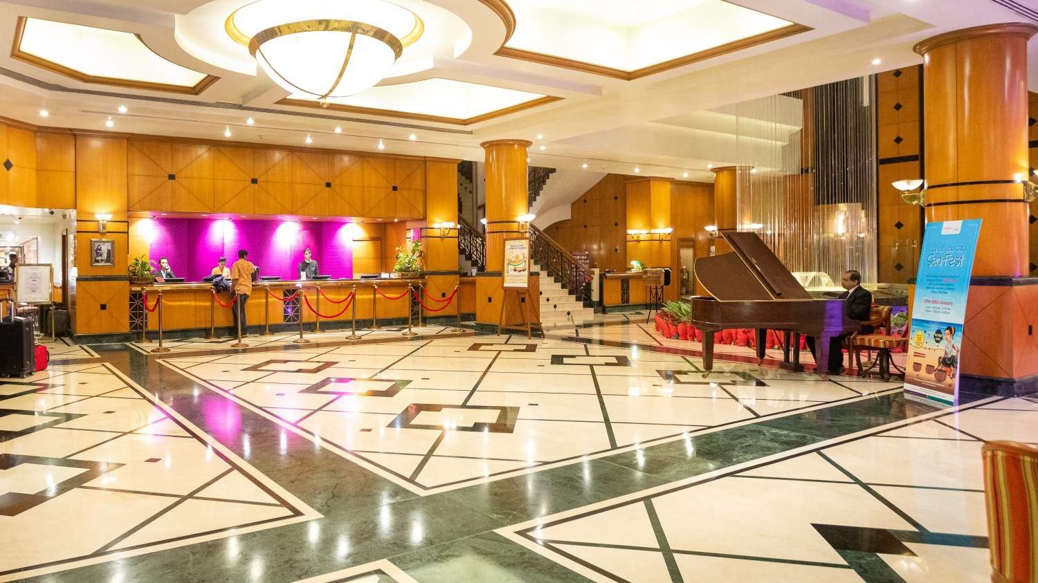 Lobby 2  Orchid Hotel Mumbai Vile Parle  5 Star Hotel in Vile Parle
