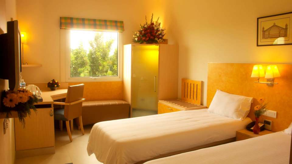 Guest Room at Radha Hometel Bangalore, Hotels in bangalore