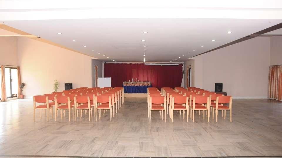 Banquet hall at Hotel Coorg International Madikere