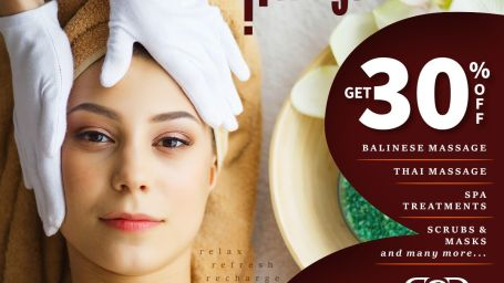 30 percent of massage at Narayani Heights, best massage spa in ahmedabad