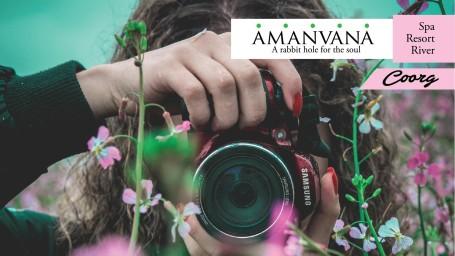 Photo Shoot Package,Amanvana Resort Spa, Luxury Resort in Coorg