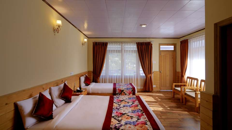 Deluxe Room at Summit Alpine Resort Lachung 1