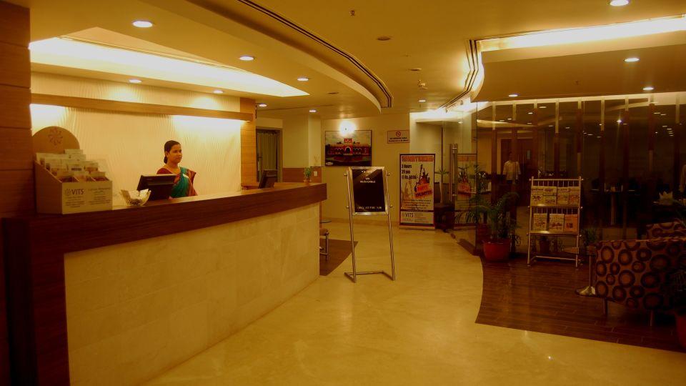 VITS Bhubaneswar Hotel Bhubaneswar Reception and Lobby of VITS Hotel Bhubaneswar