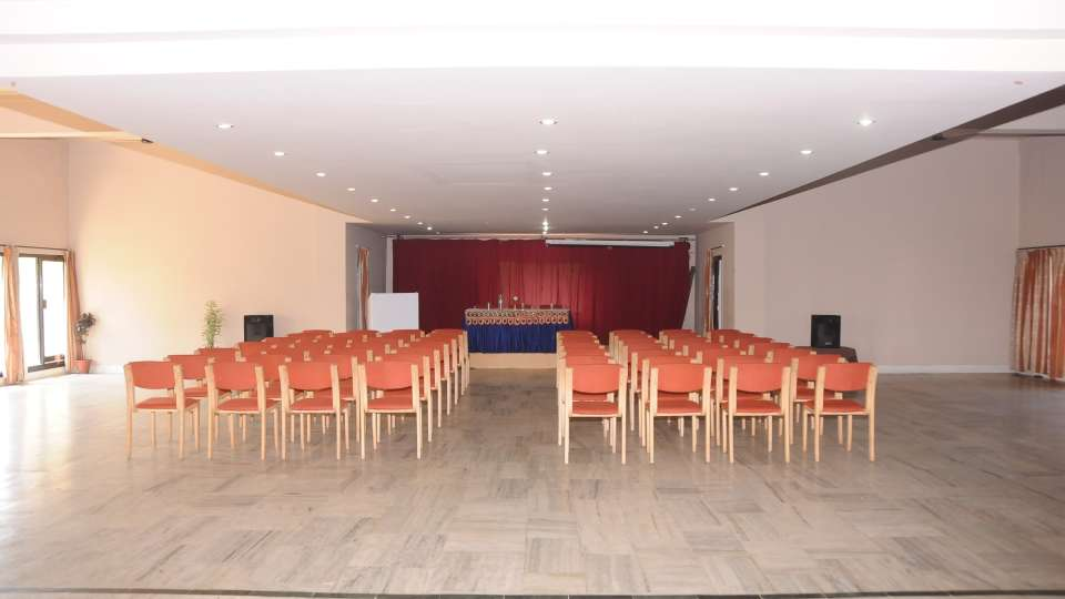 Banquet hall at Hotel Coorg International Madikere