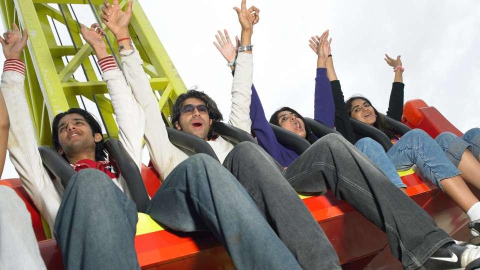 Thrillers Rides - Drop Zone at  Wonderla Amusement Park Bangalore